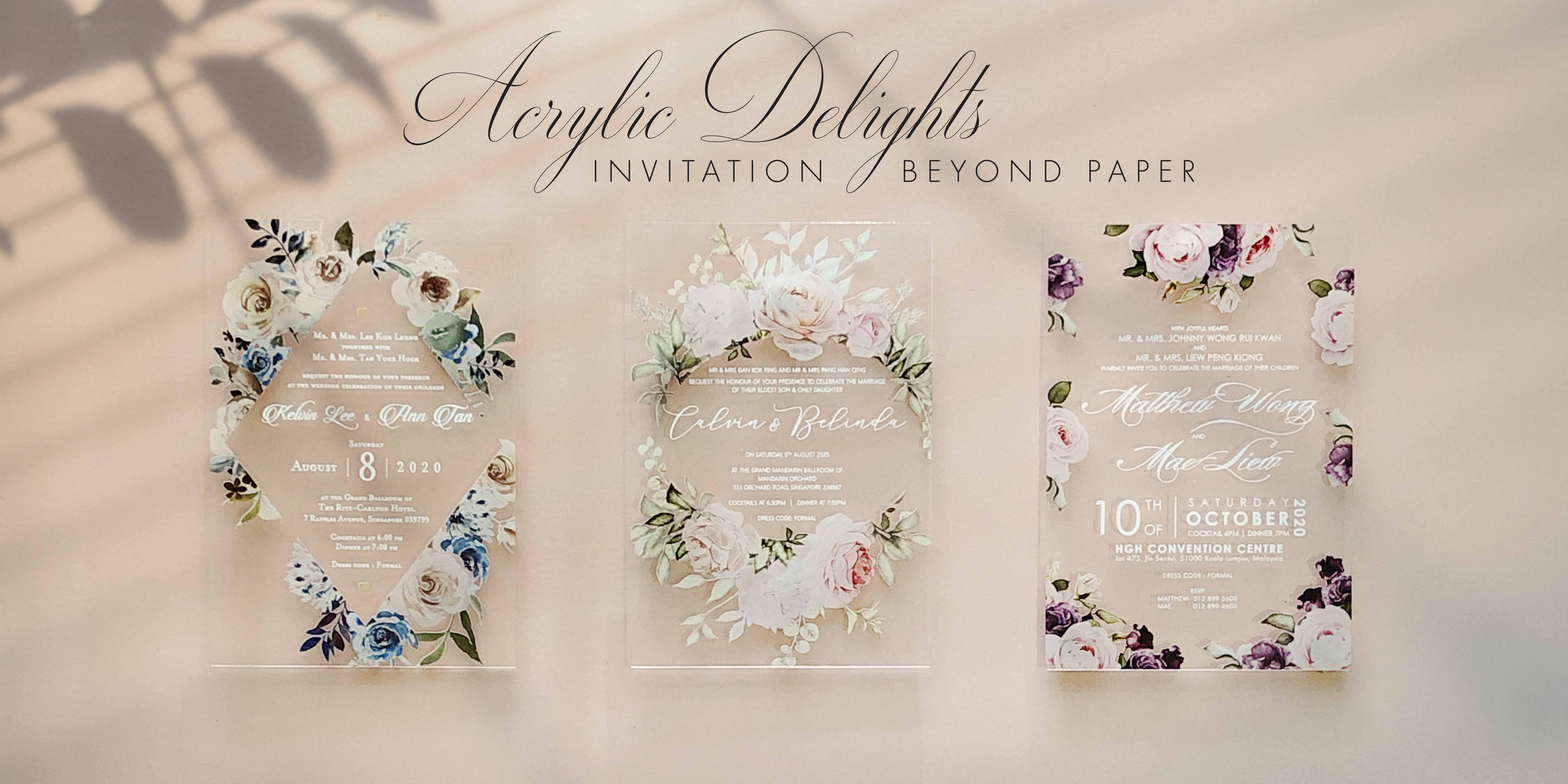 Malaysia\'s Best Wedding Invitation Card