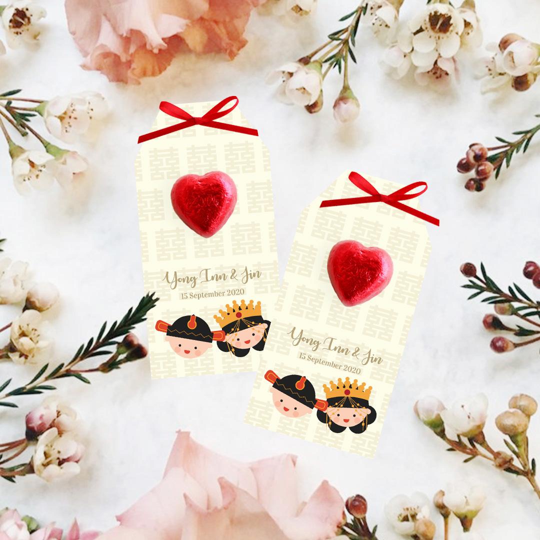 Mini Chocolate Heart 2