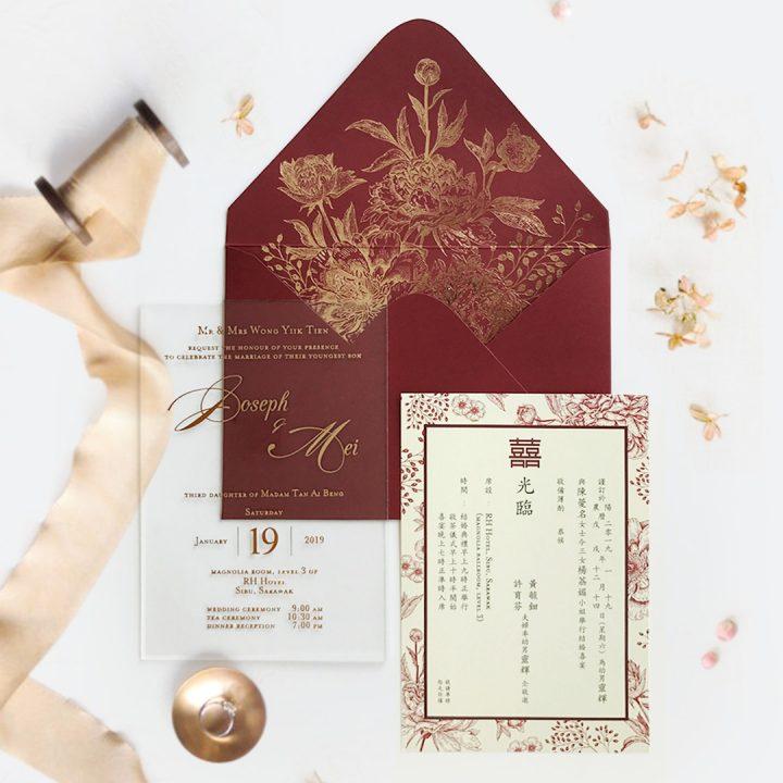 STAR OF THE MONTH: ACRYLIC WEDDING INVITATION 10