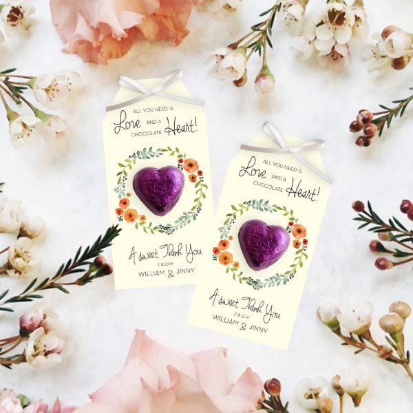 Mini Chocolate Heart 1