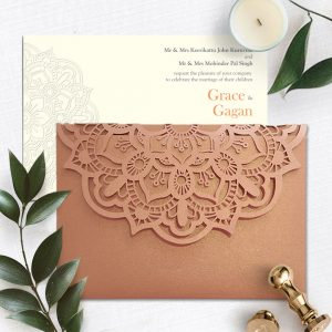Laser Cut Wedding Invitation 10
