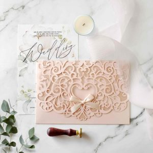 Laser Cut Wedding Invitation 6