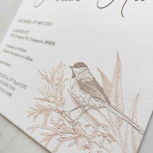 Raised Letter Print 7