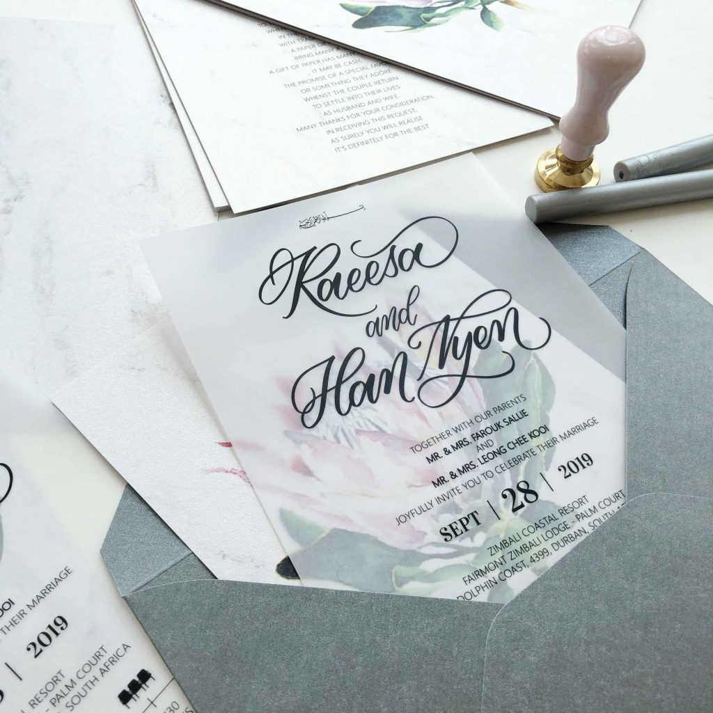 THE HOTTEST 3 WEDDING INVITATIONS TRENDS FOR 2021/2022 2