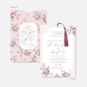 POCKET WEDDING INVITATION 15