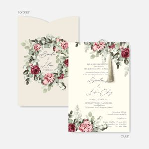 Pocket Wedding Invitation 3