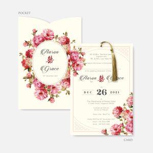 POCKET WEDDING INVITATION 8