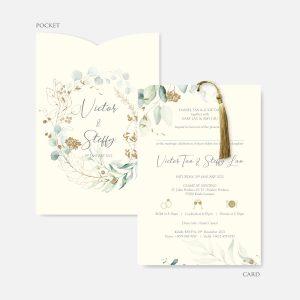 POCKET WEDDING INVITATION 10