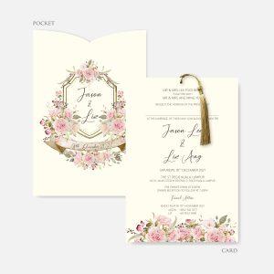POCKET WEDDING INVITATION 12