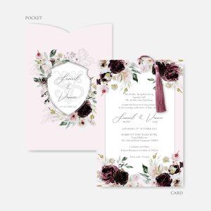 POCKET WEDDING INVITATION 13