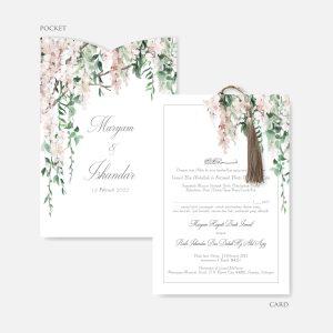 Pocket Wedding Invitation RM13.80 3